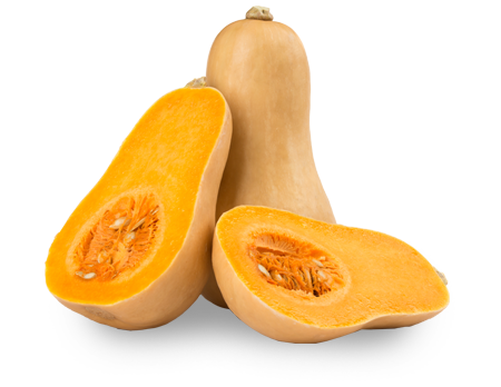 Butternut squash organic supplier IQF puree